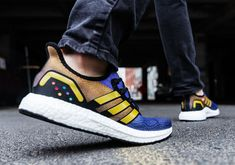 huge discount 545a7 667db Celebrate The Premiere Of Avengers  Endgame With The adidas AM4 Thanos And  Captain Marvel