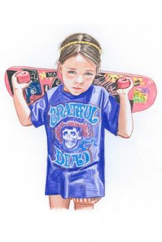Illustrator (and mom of three!) Jennifer Williams knows just how rad children can be, and wanted to capture the unlimited energy and creativity of kids through her website, What My Daughter Wore