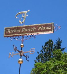 Banner Weathervane Full Sign by West Coast Weather Vanes