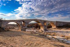 Built by the Romans (3 BC), Le Pont Julien by Gabi Monnier, via Flickr