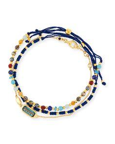 Astley Clarke Set of Three Bracelets