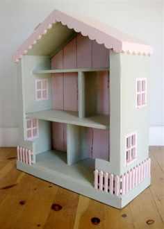 Bradshaw Kirchofer Cottage Dollhouse Bookcase