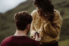 The mega-emotional Scotland marriage proposal of Manon and George at Glencoe in the Scottish Highlands. By The Kitcheners. Surprise Proposal Pictures, Surprise Engagement Photos, Unique Engagement Photos, Proposal Photos, Engagement Couple, Surprise Ideas, Proposal Ideas, Engagement Ideas, Engagement Shoots
