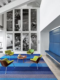 Playing To Win: Mancini Duffy Gives The NBC Sports Group An Unbeatable HQ |  Projects. Sports OfficeCorporate Interior DesignCorporate ...