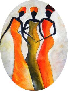 ART ARTWORK original acrylic africa painting.. by darinecraftyshop, £25.00