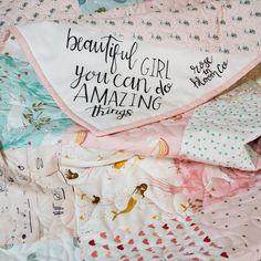 Luxury Minky Baby Blanket   28 x 39 crib size Personalization Optional