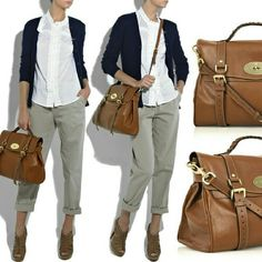0dea6405d513 Authentic Mulberry Alexa brown bag Iconic mulberry bag