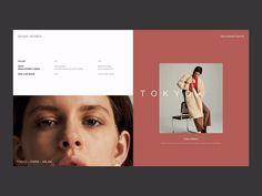 web design of fashion show motion ui model cloth clean show fashoin design web Minimal Web Design, Web Design Tutorial, Food Web Design, Web Design Quotes, Creative Web Design, Web Design Trends, Web Design Company, Logo Design, Layout Design
