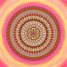 Štěstí | Mandala na každý den Tapestry, Hanging Tapestry, Tapestries, Needlepoint, Wallpapers, Rug Hooking