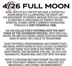 Full Moon April, What Is Spirituality, Astrology Numerology, Spiritual Encouragement, Inspirational Prayers, Special Words, Reiki Energy, Psychology Facts, Spiritual Life