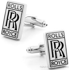 Luxury Rolls Royce Cufflinks #cufflinks - Black Friday Sale from Cufflinksman