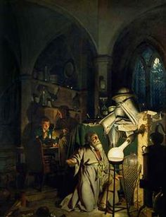Joseph Wright of Derby, The Alchymist, in Search of the Philosopher's Stone, Discovers Phosphorus