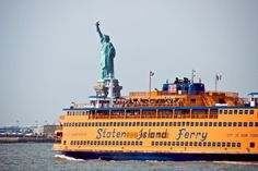 Staten Island Ferry: When I lived in NY is cost a nickle to ride this. I kid you not. Quite a view for a nickle!