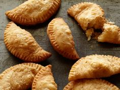 Fried Apple Hand Pies : Frying your turkey this year? Instead of wasting leftover oil, use it for dessert! These pies can be made days, weeks, even months ahead of time and just fried up after the big meal.