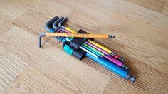 Wera 950 SPKL multicolour L-key(hex) set [5312×2988][OC](album in comments) : toolporn