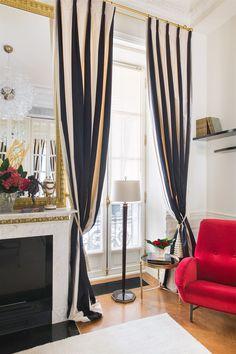 Home Art Deco Curtain Design Living room Window Interior design Window treatment Art Deco Living Room, Art Deco Bedroom, Design Living Room, Art Deco Furniture, Unique Furniture, Luxury Furniture, School Furniture, Furniture Logo, Steel Furniture