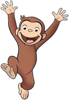 image result for curious george screen shot faces hands model rh pinterest com curious george clipart black and white curious george clip art free