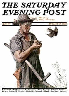 Saturday Evening Post - 1923-08-18 (Norman Rockwell)