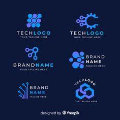 Discover recipes, home ideas, style inspiration and other ideas to try. Design Logo, Branding Design, Logo Abstrait, Planet Logo, Logo Minimalista, Design Plat, Brain Logo, Lab Logo, Logo Azul