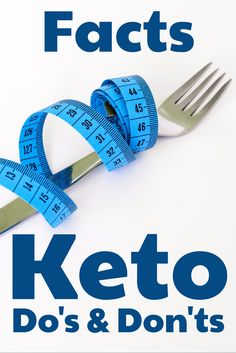 Keto Do's and Don't Facts - Meal Planning Keto