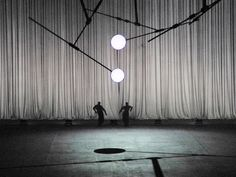 De Materie by Louis Andriessen scenography and light: Klaus Grünberg costumes: Florence von Gerkan Ruhrtriennale 2014