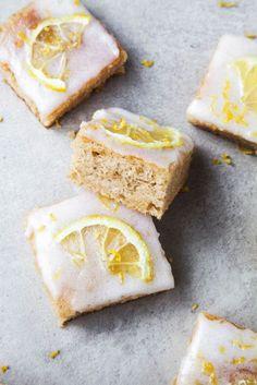 Lemon Drizzle Bars | Wallflower Girl