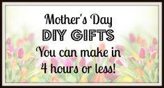 Mother's Day DIY Gift Ideas | Craft Test Dummies