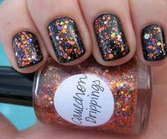 80 The Best Classy And Cute Nails Art Designs For Short Nails - Nail Art Connect Fancy Nails, Love Nails, Pretty Nails, Nail Art Halloween, Halloween Nail Designs, Halloween Pictures, Halloween Halloween, Cute Short Nails, Short Nails Art