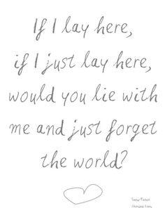 Forgot the world