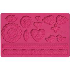 "Fondant & Gum Paste Silicone Mold 5.7""X10.6""-Folk: http://ostela.com/kitchenware/fondant-gum-paste-silicone-mold-5.7-x10.6-folk/"