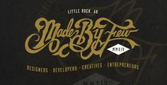 Made By Few Tech / Creative Conference - Branding by Jeremy Teff, via Behance