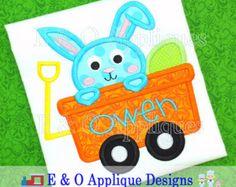 Easter Embroidery Design Digger  Easter Applique от EandOApplique