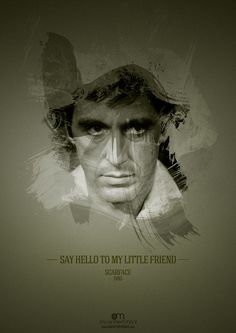 Movie Quotes by Oscar Merchant, via Behance