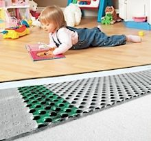 DELTA® FL   The Warm U0026 Dry Floor System DELTA® FL Is