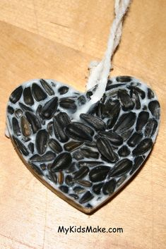 bird seed ornament - a present for the birds!