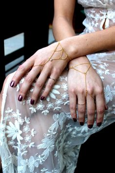 beautiful hand chains