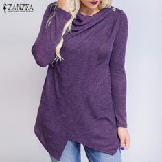 Take a look at my listing, folks ZANZEA Women Blouses Shirts 2017 Autumn Blusas Long Sleeve O Neck Fashion Cardigan Solid Asymmetrical Tops Loose Plus Size S-5XL http://www.shortthickandcurvy.com/products/zanzea-women-blouses-shirts-2017-autumn-blusas-long-sleeve-o-neck-fashion-cardigan-solid-asymmetrical-tops-loose-plus-size-s-5xl?utm_campaign=crowdfire&utm_content=crowdfire&utm_medium=social&utm_source=pinterest
