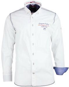 Das weiße Langarmhemd von CLAUDIO #CAMPIONE glänzt mit exklusiven Details und einer perfekten Passform. Kids Shirts, Men Shirts, Mens Fashion, Fashion Outfits, Casual Shirts For Men, Shirt Dress, T Shirt, Chef Jackets, Shirt Designs