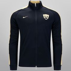 32d275d98 NIKE PUMAS UNAM AUTHENTIC N98 JACKET Navy Gold.