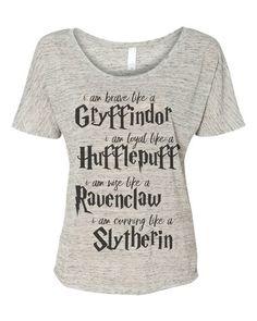 griffindor hufflepuff ravenclaw slytherin harry potter t shirts for men women Harry Potter Shirts, Harry Potter Mode, Arte Do Harry Potter, Harry Potter Outfits, Harry Potter Fandom, Harry Potter World, Casual Cosplay, Slytherin, Harry Potter Kleidung