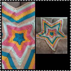 #crochet star blanket! Lovely colours and something a bit different!   #curlyclairescrochet #crochetblanket #starblanket #crochetersofinstagram #handmade #homemade #madewithlove #crochetaddict by curly.clairescrochet