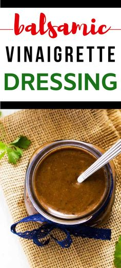 I really want to try new gluten-free salad dressing recipes and this Balsamic Vinaigrette Dressing looks so good! I can't wait to make this easy dressing for my family.  It looks like the perfect way to get everyone enjoying salad.  SO PINNING! #wendypolisi #glutenfree #glutenfreerecipes #healthyrecipes #saladdressing Gluten Free Recipes For Breakfast, Healthy Gluten Free Recipes, Healthy Salad Recipes, Vegetarian Recipes, Dinner Recipes, Gluten Free Salad Dressing, Salad Dressing Recipes, Vinaigrette Salad Dressing, Salad Dressings
