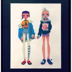 My solo exhibition BFF 👭at @gallerynucleus is open only for the next 9 days. Don't miss it! 🍩