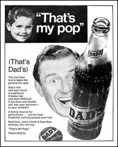 vintage everyday: Vintage Dad's Root Beer Ads