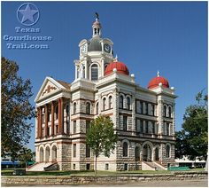 Coryell County Courthouse, Gatesville TX a visit with my Mom where she grew up.