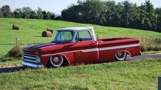 Red Chevy C10 Truck