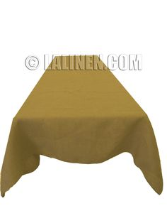 "Natural Burlap Table Cover 60"" X 120"". Made in the USA. $26.96, via Etsy."