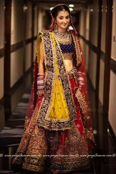 #colorful#intricate#embroidery#lehnga#wedding