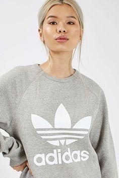 Trefoil Crew Sweat by Adidas Originals Bekleidung, Athleisure, Karussell, Adidas  Originals, Topshop effecc5aa6