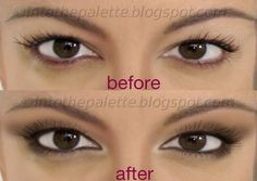 Hooded eye makeup... A bunch of super easy tutorials with pics. Cuz I feel like no matter how many times I try I can't get it right.